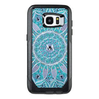 Mandala Monogram Otterbox Galaxy Edge S7 Case