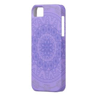 Mandala morado Funda para celular iPhone 5 Funda