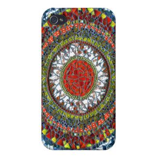 Mandala Mosaic speck case