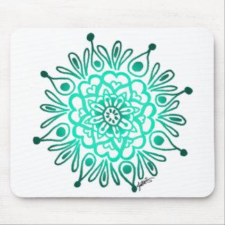 Mandala Mousepad de la turquesa