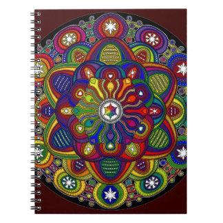Mandala multicolor amor y protección - M2 Libro De Apuntes