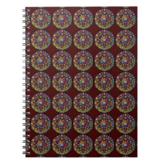 Mandala multicolor amor y protección - M2m Libros De Apuntes