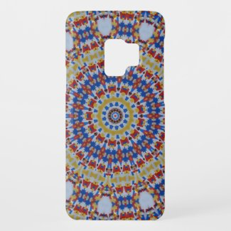 Mandala multicolored plastic components Case-Mate samsung galaxy s9 case
