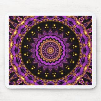 Mandala mystical star created by Tutti Mouse Pad