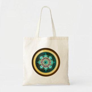 Mandala Natural Tote Bag