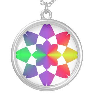 Mandala Round Pendant Necklace