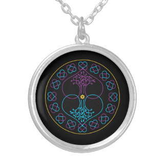 Mandala Necklace - Duality
