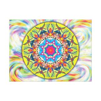Mandala Número 8 - Impressão em canvas
