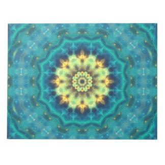 Mandala ocultada de Lotus Bloc De Notas