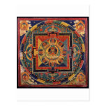 Mandala of Amitayus. 19th century Tibetan school Postcard