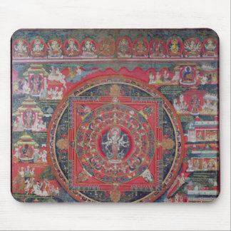 Mandala of Amoghapasa Mouse Pad