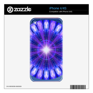 Mandala of Communication and Insight Skins For The iPhone 4