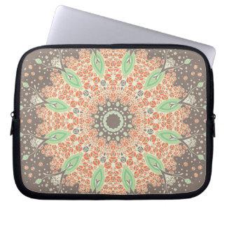 Mandala of Growth Laptop Sleeve