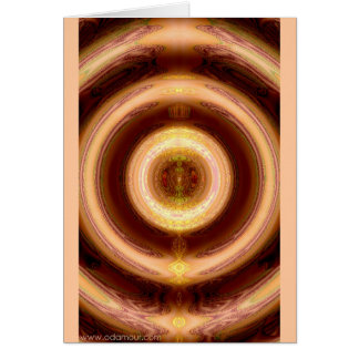 Mandala of Harmony Card