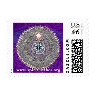Mandala of Lord Michael Postage
