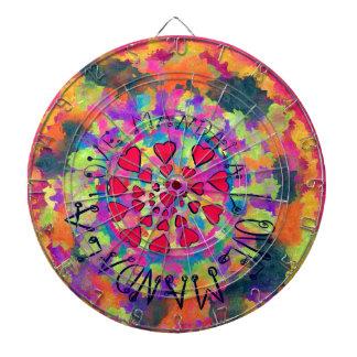 Mandala of Love Dartboards