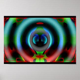 Mandala of Natural Growth  Poster