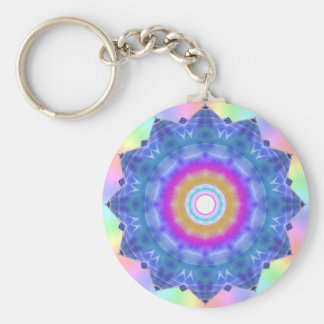 Mandala of Prime Illumination  Keychain