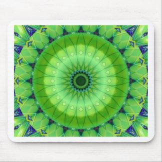 Mandala of spring awake created by Tutti Mouse Pad
