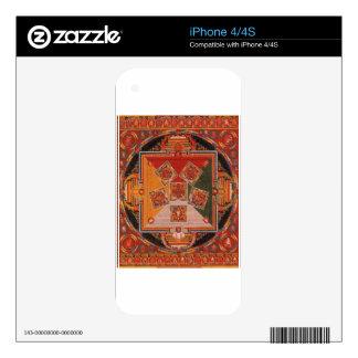 Mandala Of The Six Chakra Skin For The iPhone 4S