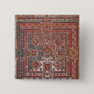 Mandala of Vaishravana Button