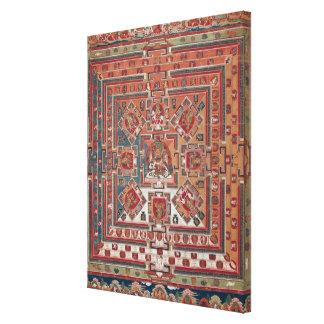 Mandala of Vaishravana Stretched Canvas Print