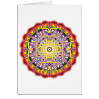 Mandala OKO.ai Greeting Card