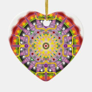 Mandala OKO.ai Ceramic Ornament