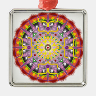Mandala OKO.ai Metal Ornament