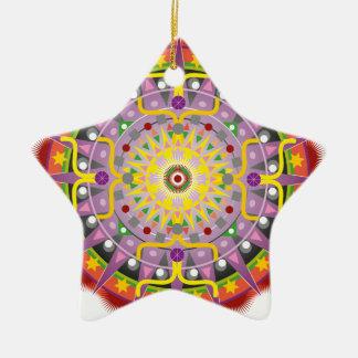 Mandala OKO.ai Christmas Tree Ornaments