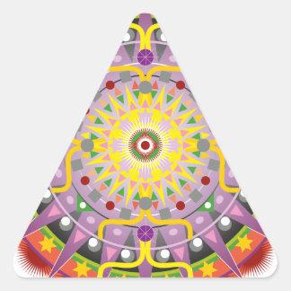 Mandala OKO.ai Triangle Sticker