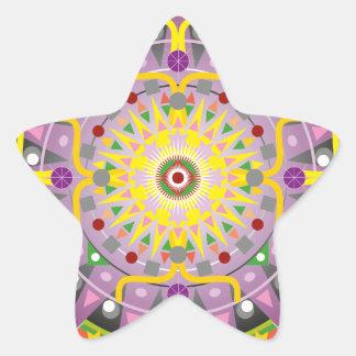 Mandala OKO.ai Star Stickers