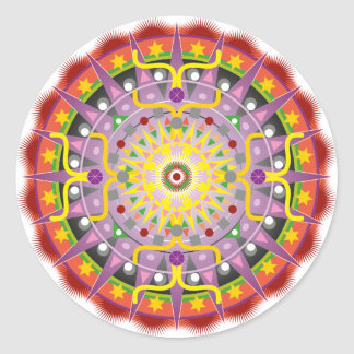 Mandala OKO.ai Round Sticker