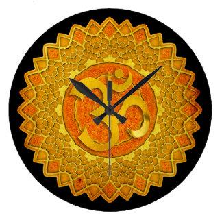 Mandala OM - Spirograph Wallclock
