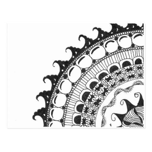 mandala - ondas postal