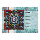 Mandala One Large Business Cards (Pack Of 100)