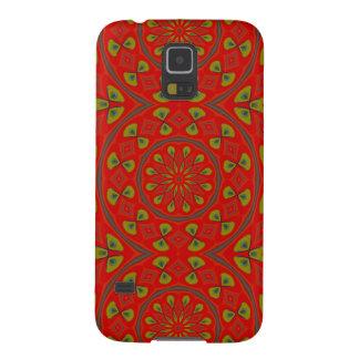 Mandala or a Young Peacock Galaxy S5 Case