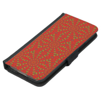 Mandala or a Young Peacock Wallet Phone Case For Samsung Galaxy S5