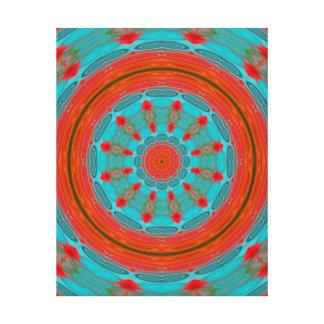 Mandala or Strength Canvas Print