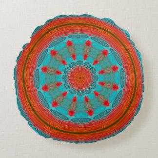 Mandala or Strength Round Pillow