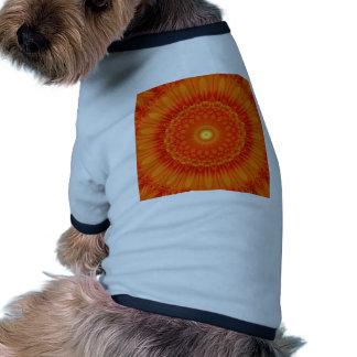 Mandala orange created by Tutti Dog Tee