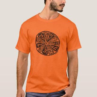 Mandala Orange T-Shirt