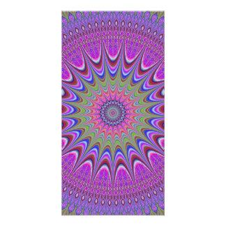 Mandala ornament card