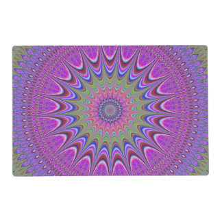 Mandala ornament placemat