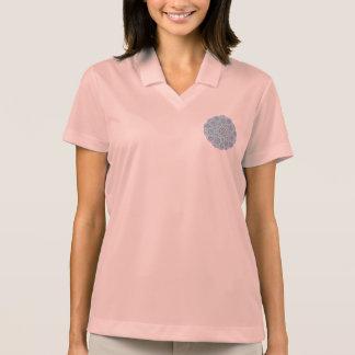 Mandala ornament polo t-shirts
