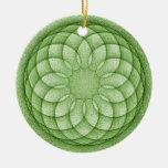 Mandala Ornamento Para Arbol De Navidad