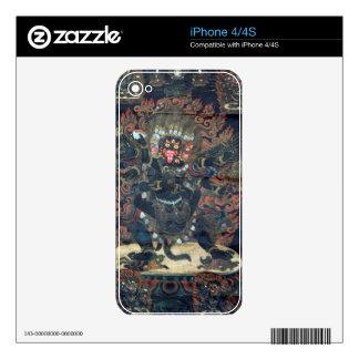 Mandala (painted parchment) iPhone 4 skin