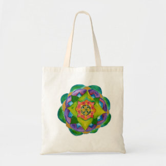 Mandala Painting Tranquillity Budget Tote Budget Tote Bag