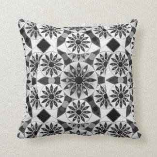 Dark Grey And White Pillows - Decorative & Throw Pillows Zazzle