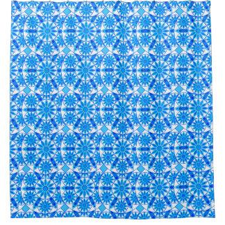 cerulean blue shower curtains | zazzle